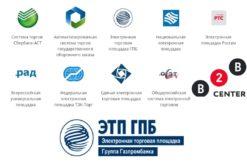 ЭТП по 44-ФЗ, КТП, B2B и Газпромбанк